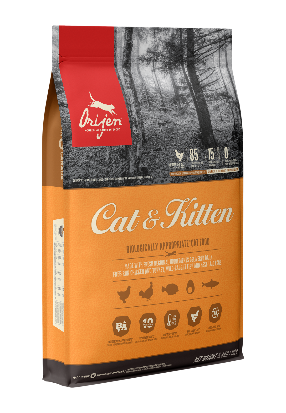 Orijen Dog Cat Food Nourish Your Pet As Nature Intended